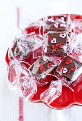 Simple, creamy Valentine's Day Fudge