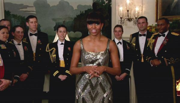 Michelle Obama makes surprise Oscar appearance