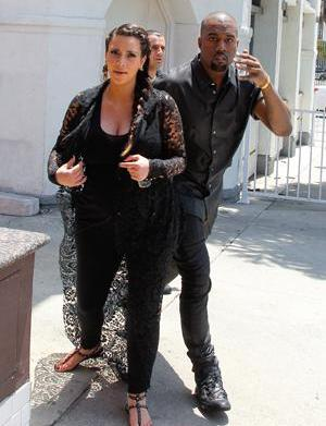 Kim K furious at Kanye's post-baby