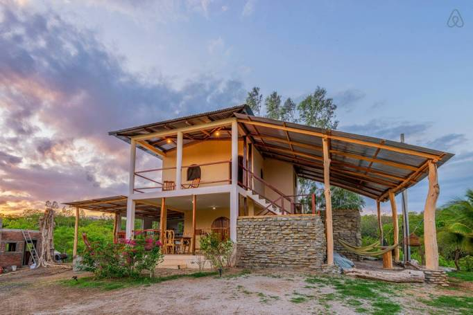 Last-Minute Valentine's Day Getaway on AirBnb: Surf Bungalow in Rivas, Nicaragua