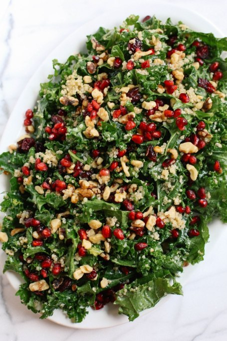 Yummy Winter Salads You'll Actually Crave   Winter Kale and Quinoa Salad