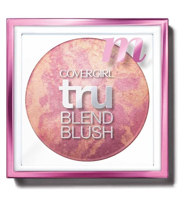 Best Drugstore Blushes Under $11: CoverGirl TruBlend Blush in Medium Rose | Drugstore Makeup 2017
