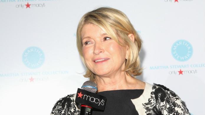 Low blow! Martha Stewart makes a