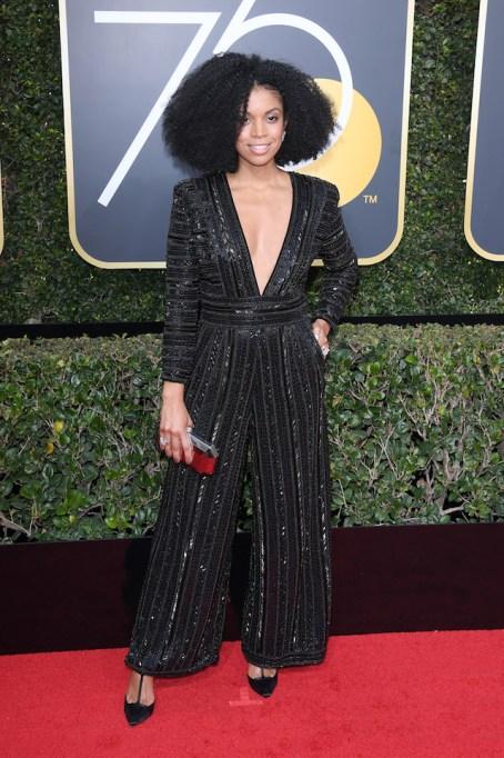 Best Golden Globes fashion 2018: Susan Kelechi Watson