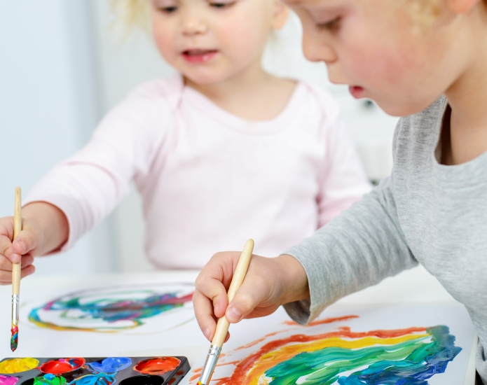 25 rainbow crafts for kids to
