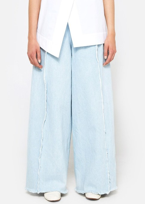 Wide Leg Pants Are Making a Comeback: Ashley Rowe Pant with Seams | Summer Style 2017