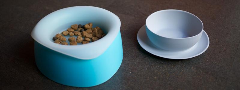 Yummy travel dog bowl