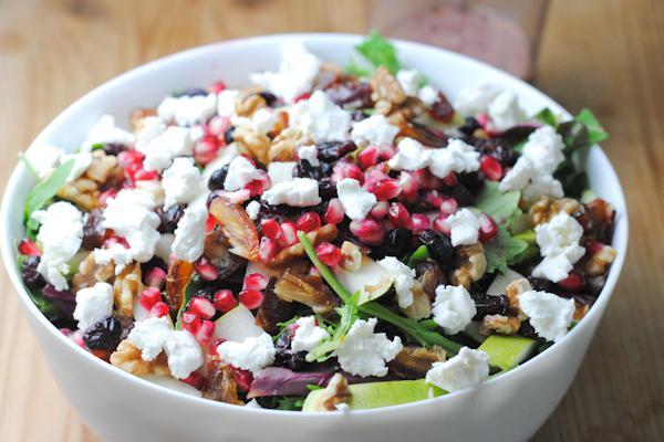 Fruit and nut salad recipe