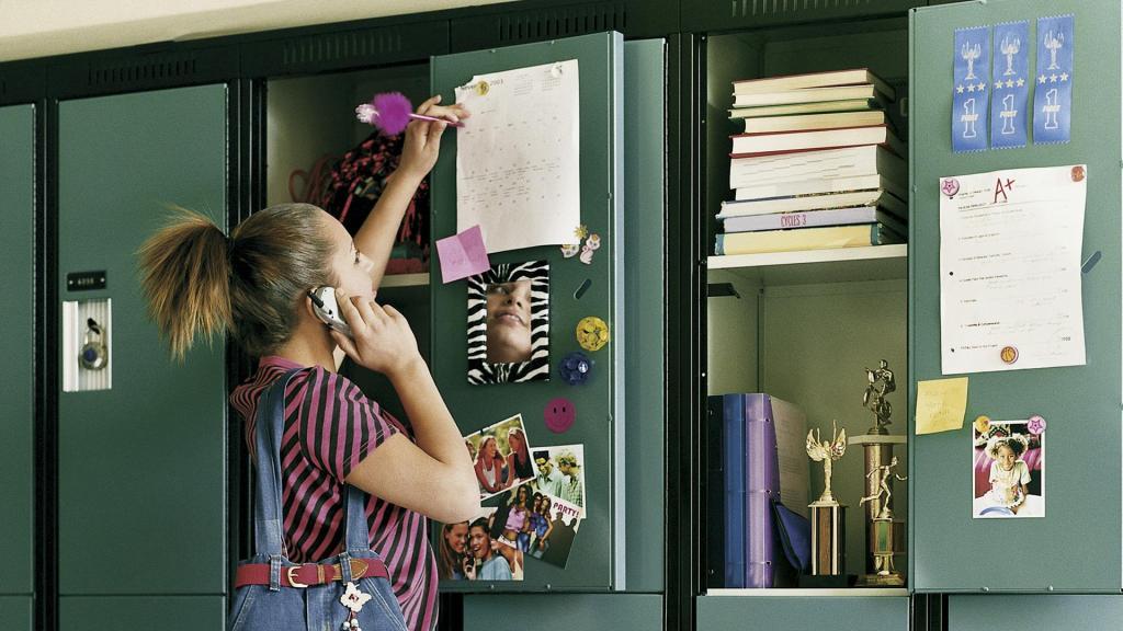 Instagram-worthy school locker