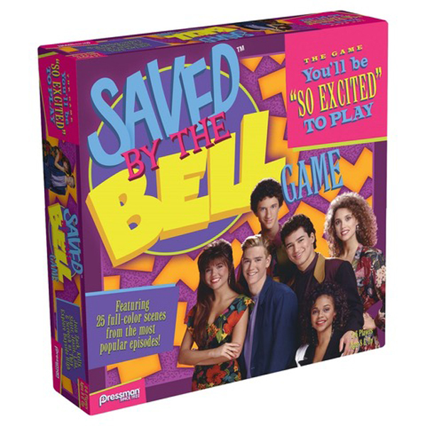 Quirkiest Gifts from Your Favorite Pop Culture Shows: 'Saved by the Bell' board game