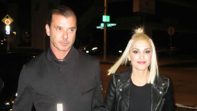 Gavin Rossdale & Gwen Stefani out to dinner