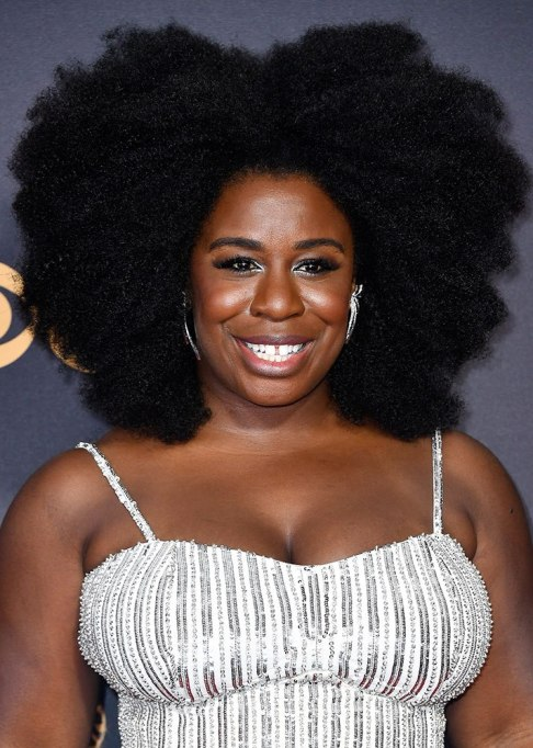 Best Natural Hair Red Carpet Moments of 2017 | Uzo Aduba