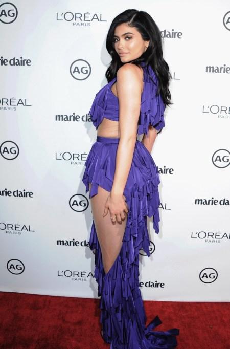 Ultra Violet On The Red Carpet | Kylie Jenner