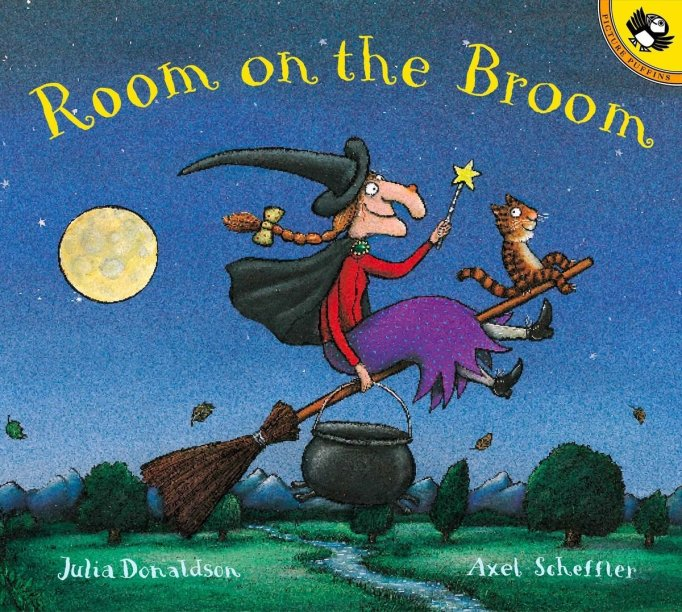 Rhyming Books For Early Readers And Young Poets: Room On The Broom
