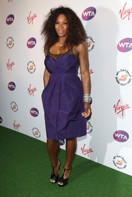 Ultra Violet On The Red Carpet | Serena Williams