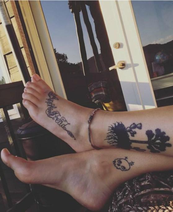 Celebrity Tattoos 2017: Paris Jackson