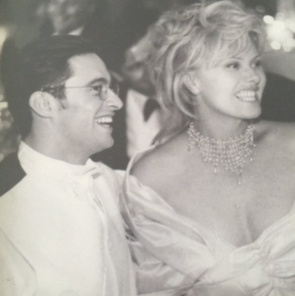 Deborra-lee Furness & Hugh Jackman wedding photo