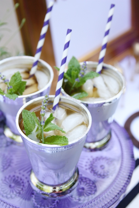 Lavender and mint julep