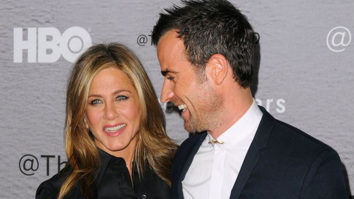 Jennifer Aniston and Justin Theroux's group