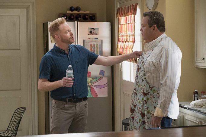 Jesse Tyler Ferguson and Eric Stonestreet in 'Modern Family'