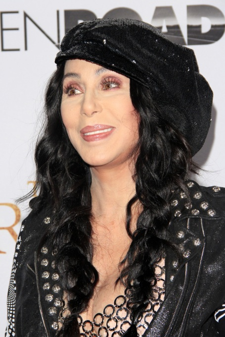 Cher at the film premiere for The Promise