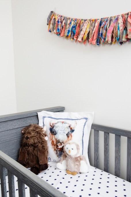 Look inside Hannah Simone's Americana-chic nursery: Pottery Barn baby design