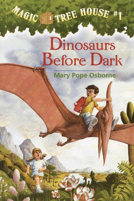 Books for girls: Magic Tree House #1: Dinosaurs Before Dark