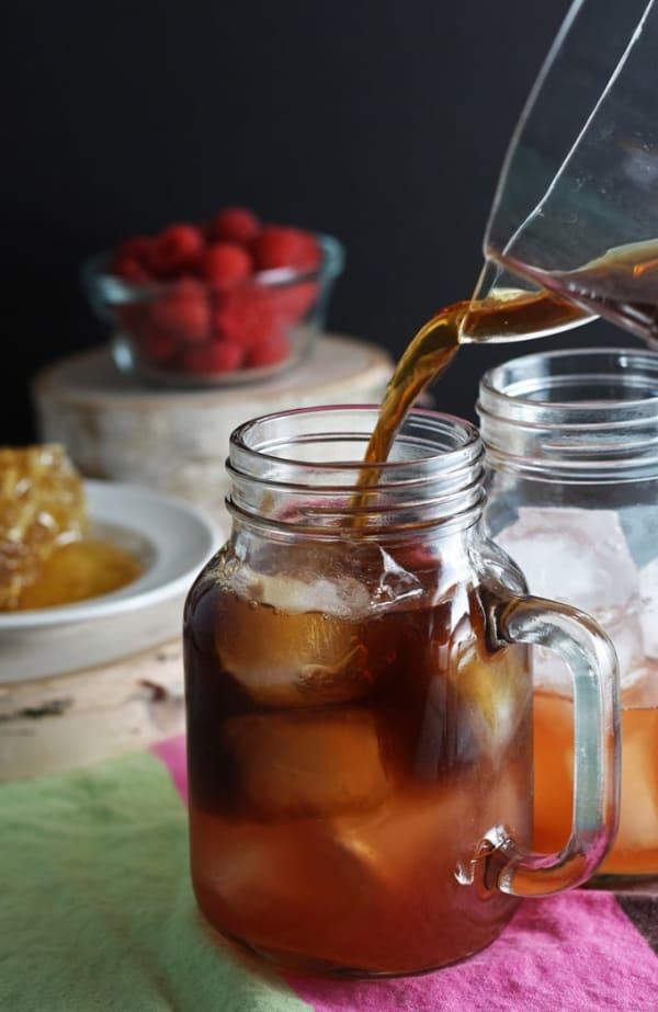 Summer Iced Tea Cocktail Recipes: Raspberry-sweet tea cocktail
