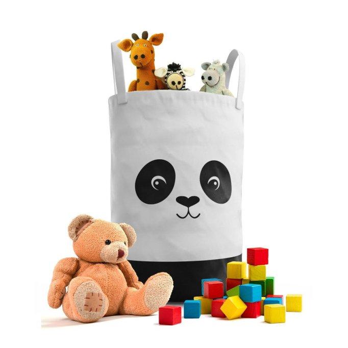 Panda Bear Laundry Hamper