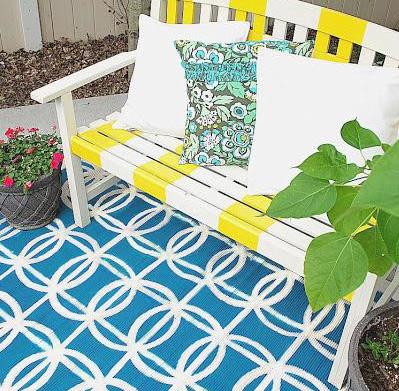 Cool backyard DIY projects from around