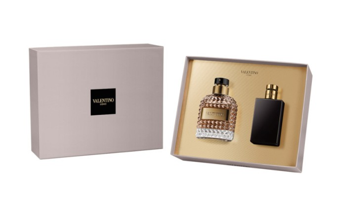 Beauty Products That Will Sell Out Fast This Holiday Season | Valentino Uomo Holiday Gift Set