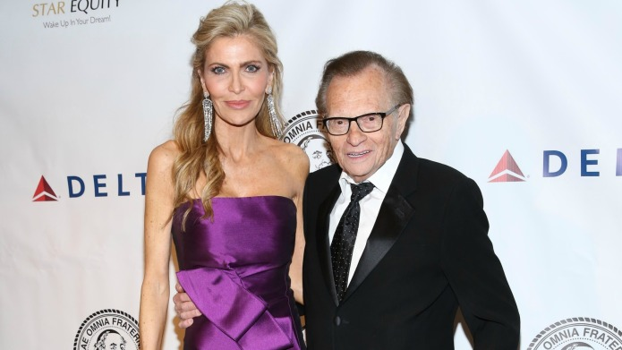 Yikes! Larry King's much younger wife