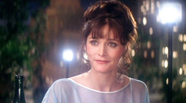 Still of Margot Kidder from the 'Superman' films of the late '70s and early '80s
