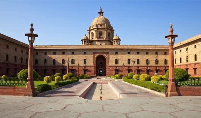 India Gate & Rashtrapati Bhavan