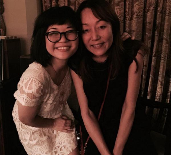 Keiko Agena and Helen Pai of Gilmore Girls