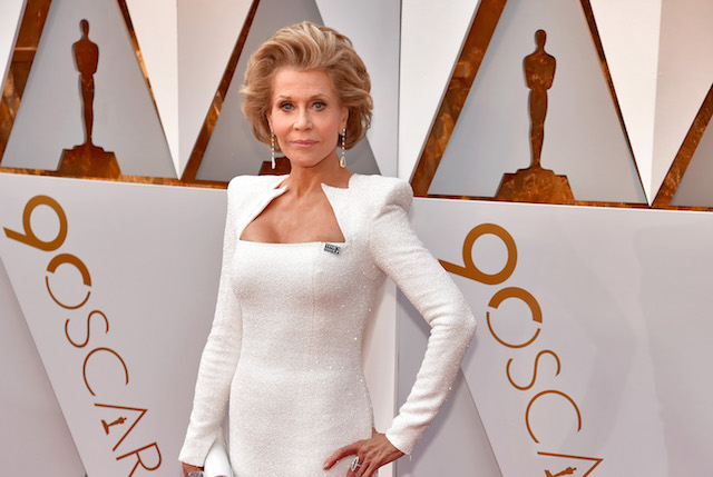 Jane Fonda attends the 90th Annual Academy Awards