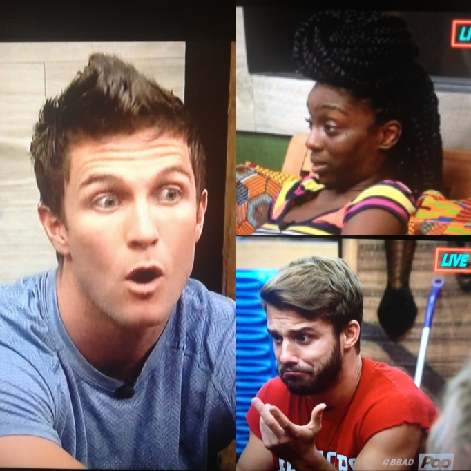 Day, Paulie, Corey Big Brother