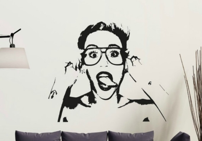 miley-cyrus-wall-decal