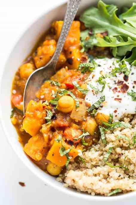 12 Healthier Alternatives To Your Favorite Winter Comfort Food: Slow cooker Moroccan stew