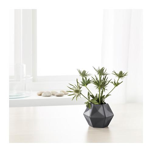 Ikea geometric gray Livslång vase