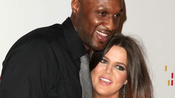 Lamar Odom and Khloé Kardashian are