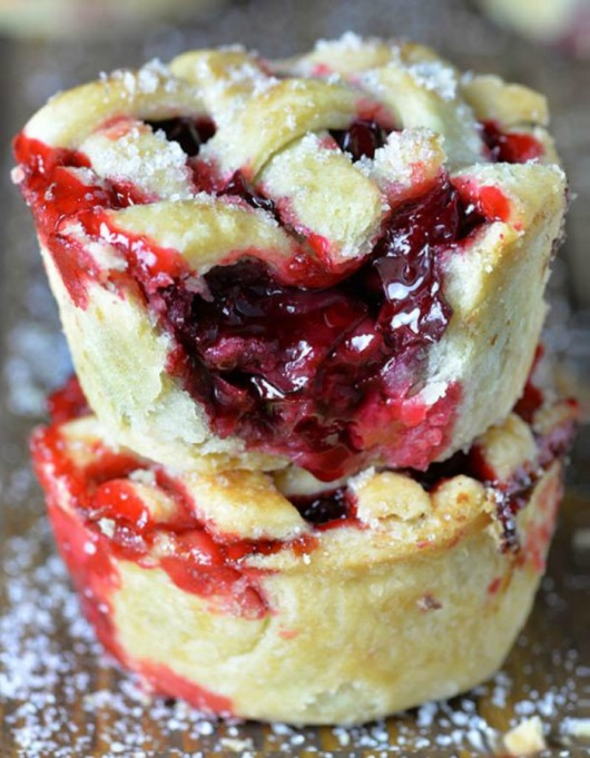 Food & TV Pairings: Mini Cherry Pies
