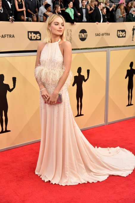 2018 SAG Awards Best Dressed: Margot Robbie
