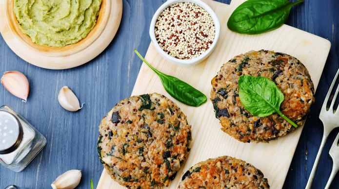 Make your veggie burger more mighty