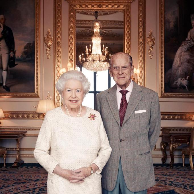 Queen Elizabeth & Prince Philip 70th anniversary portrait