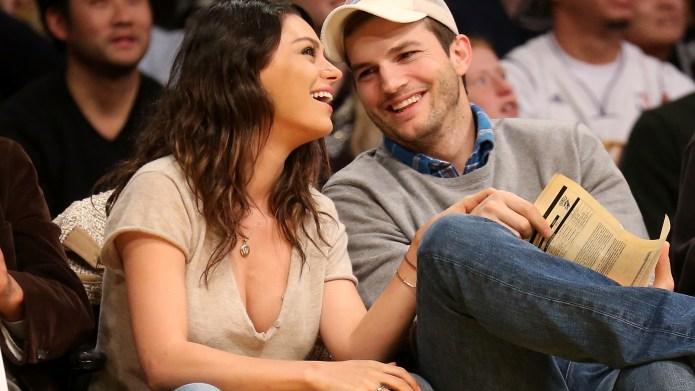 Ashton Kutcher & Mila Kunis break