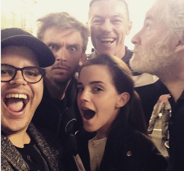 The cast of Beauty and the Beast live-action film