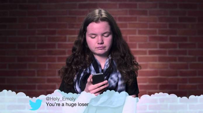 Kids read their own 'Mean Tweets'