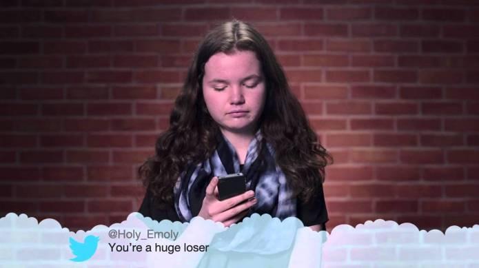 Kids read their own 'Mean Tweets'
