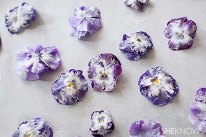 12 ways cooking with flowers will